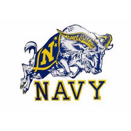 Navy Goat Military Mascot Logo